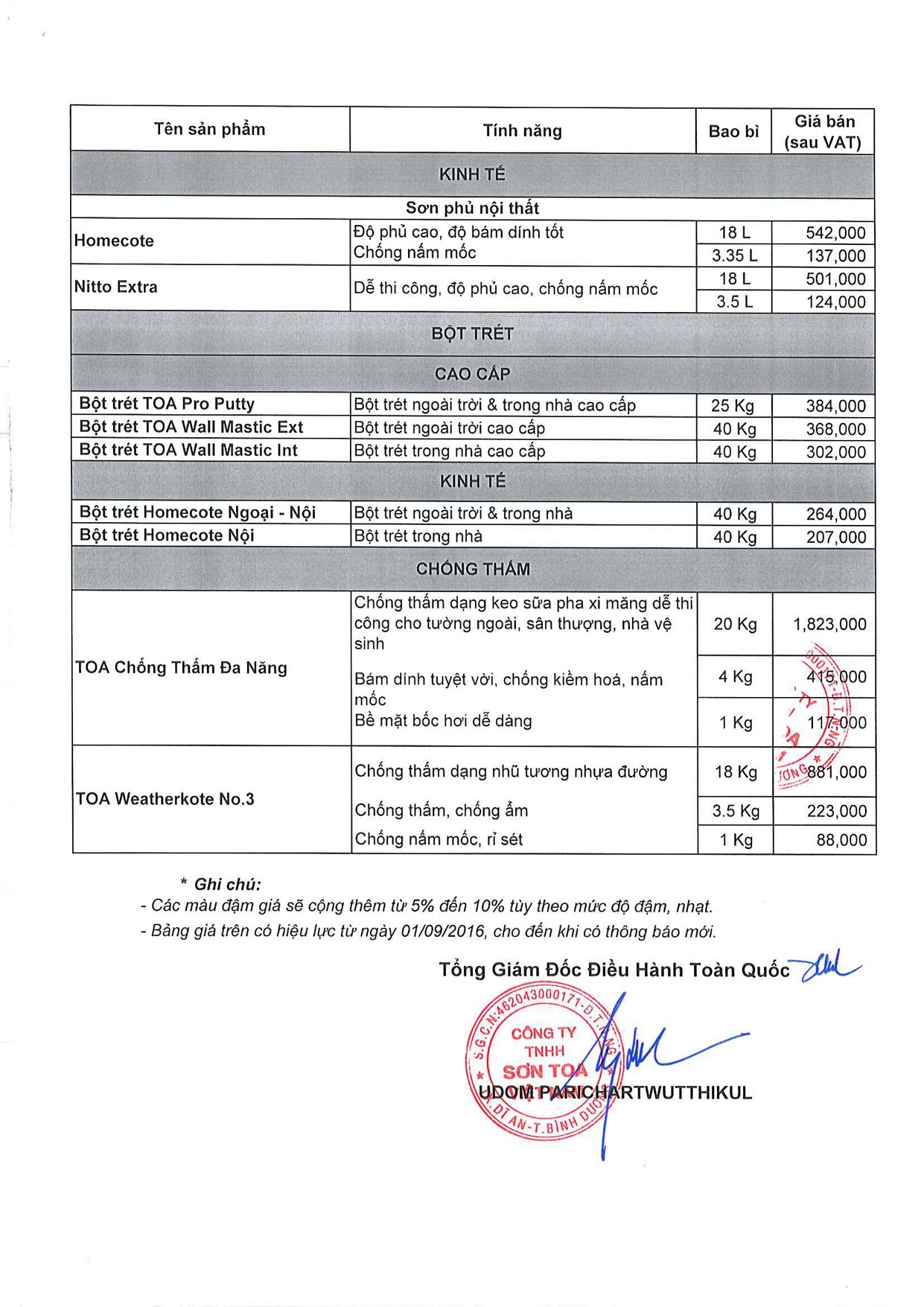 Bảng giá Sơn nước tốt nhất, rẻ nhất hiện nay trên thị trường ( Tphcm ) - 9